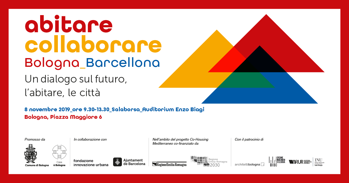 Abitare collaborare Cover evento FB